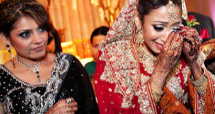 Girl crying in marriage