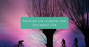 satisfied life